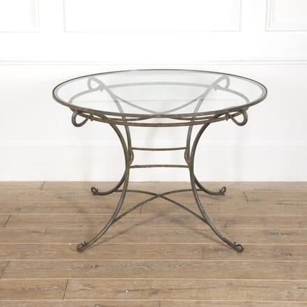 Contemporary Round Glass Table GA2016649