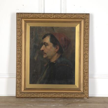 Glazed Portrait Of A Turkish Man WD5512528