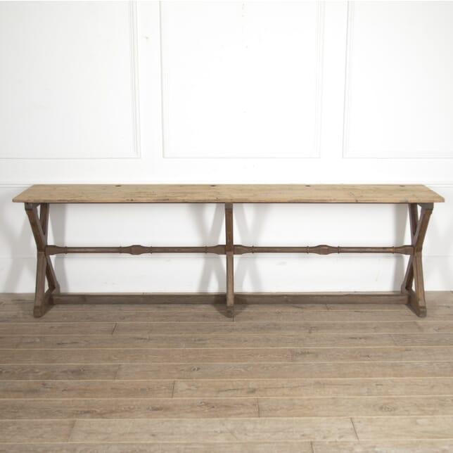 Gothic Pine Long School Desk DB7815284