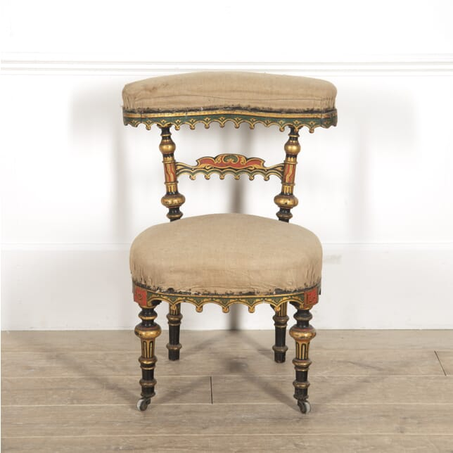 French Gothic Revival Side Chair CH3514784