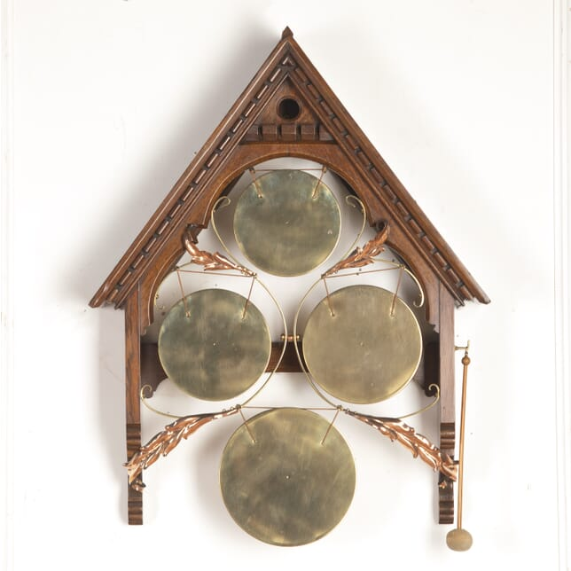 Gothic Style Wall Mounted Gong DA8516206