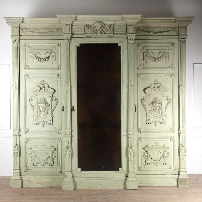 Grand Scale Architectural Armoire CU1111046