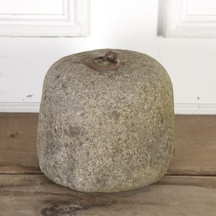 19th Century Granite Tethering Block GA8515645