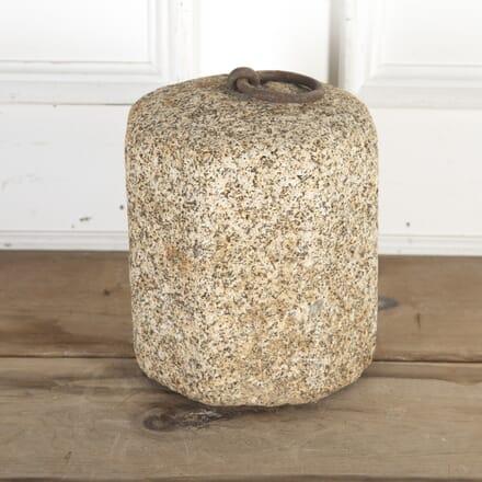 19th Century Granite Tethering Block GA8515641