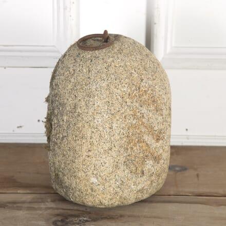 19th Century Granite Tethering Block GA8515638