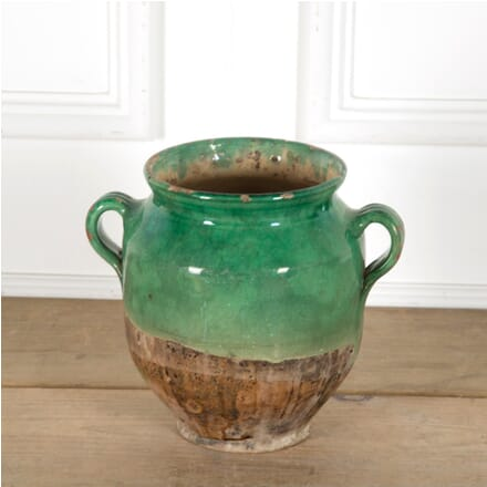 Green Glazed Confit Pot DA1510042