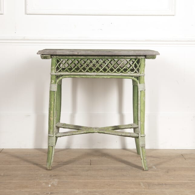French Painted Conservatory Table CO2016137