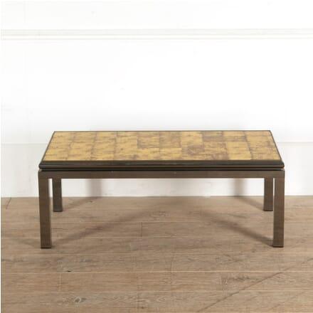 Gunmetal Patinated Coffee Table CT3010915