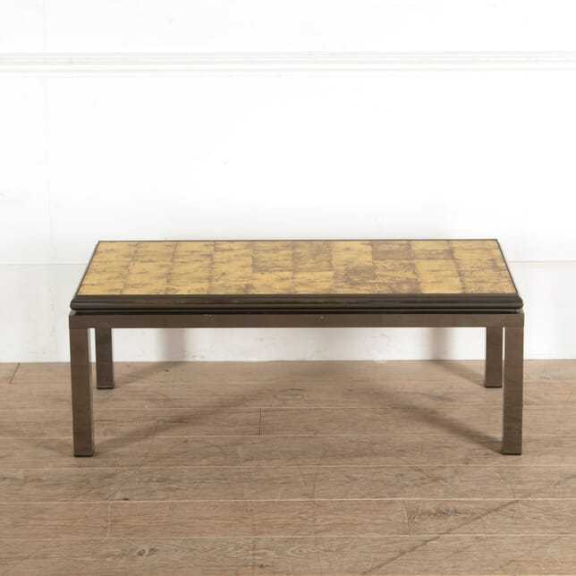 Gunmetal Patinated Coffee Table CT3010915