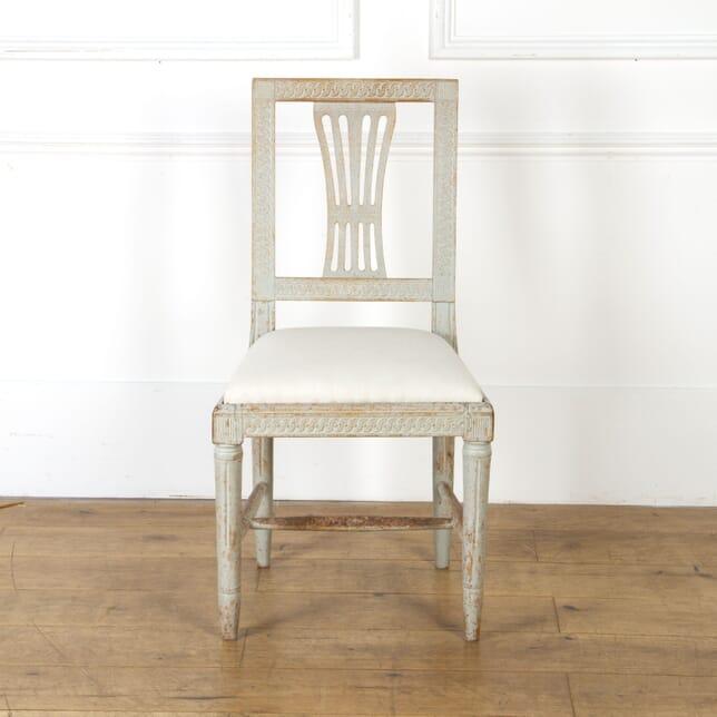 Gustavian Side Chair CH9017296
