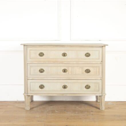 Gustavian Bleached Oak Commode CC3614566