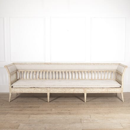 Long Gustavian Sofa SB6014675