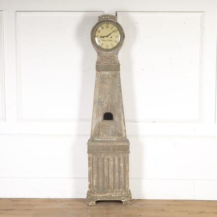 Gustavian Longcase Clock DA9014924