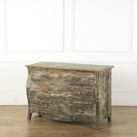 Gustavian Scraped Back Chest of Drawers CC739175