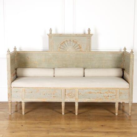 18th Century Gustavian Sofa DA8117196