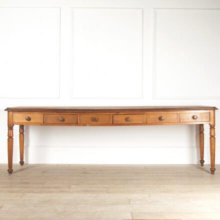 Long Mahogany Haberdashery table TS0814020