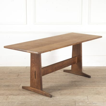 Hand-Crafted English Oak Dining Table TD2512073