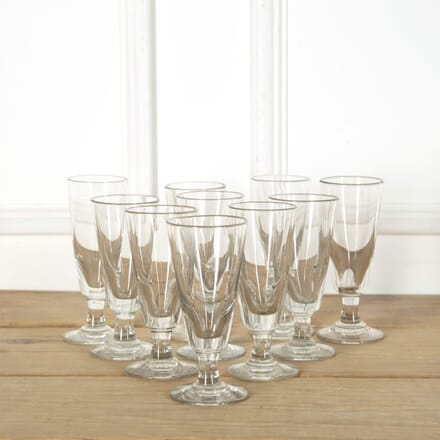 Handblown Bistro Glasses DA719157