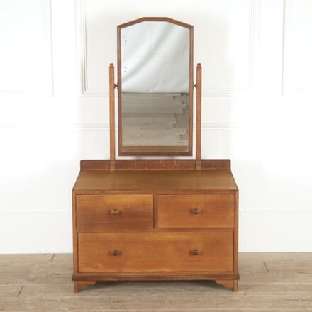 Heal's Oak Dressing Table with Mirror CC7814471