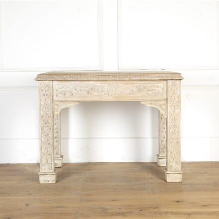 Oak Gothic Style Console Table DA7914482