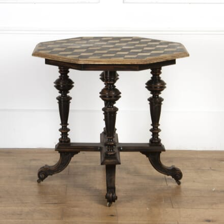 Italian Hexagonal Occasional Table TC7917542