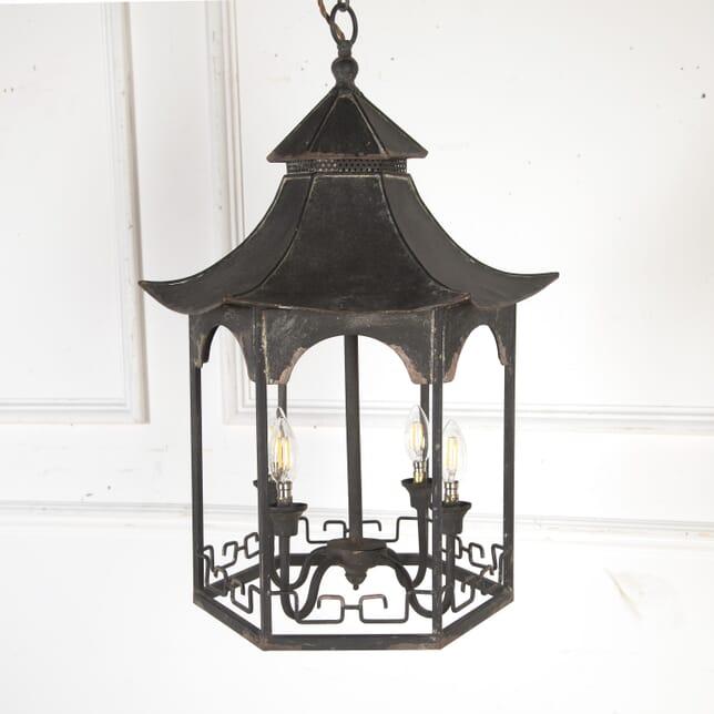 Hollywood Regency Chinoiserie Lantern LL3613743
