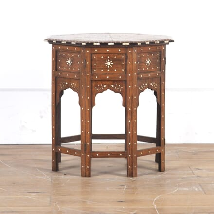 Early 20th Century Indian Hoshiarpur Table CO1014344