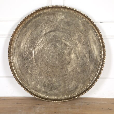 Huge Indian Brass Tray Table Top WD4315160