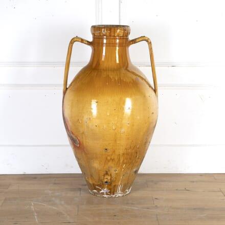 Huge Glazed Capasoni Wine Jar DA8115727