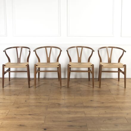 Collection Of Four Dining Chairs by Hans J Wegners CH5316943