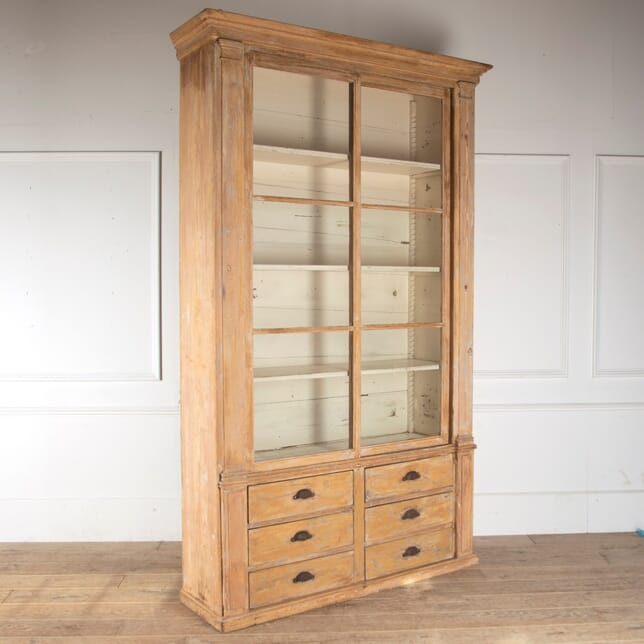 19th Century French Pharmacy Cabinet CU6012271