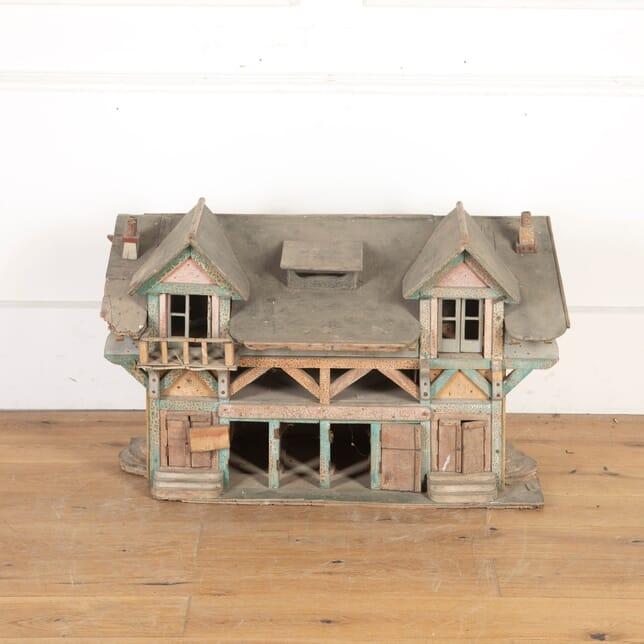 Large Wooden Dolls House DA5558006
