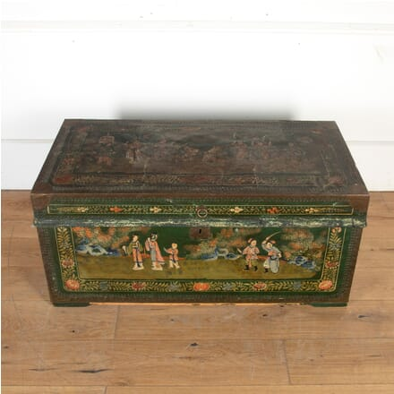 Large Painted Marriage Trunk OF5556058
