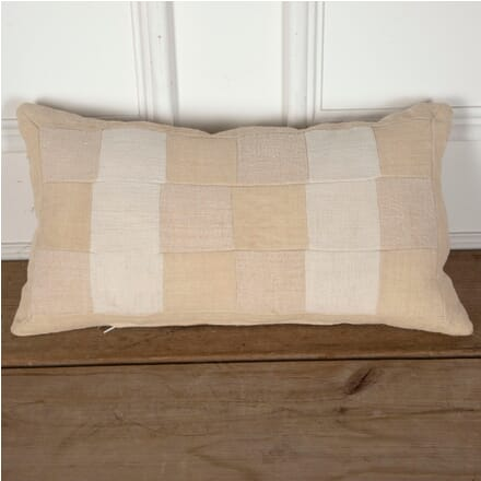 Antique Linen Patchwork Cushion RT9012248