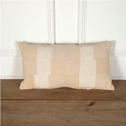 Antique Linen Patchwork Cushion RT9012247