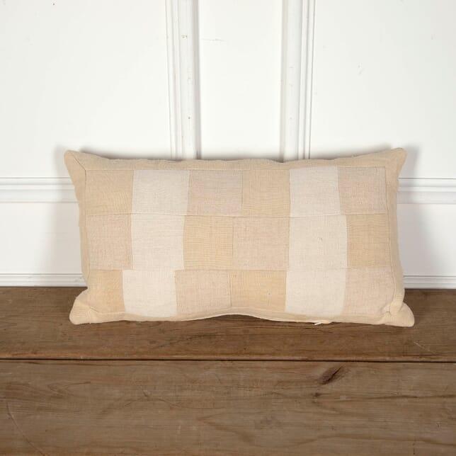 Antique Linen Patchwork Cushion RT9012247