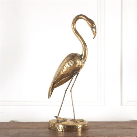 Spanish Gilt Metal Flamingo DA4812283