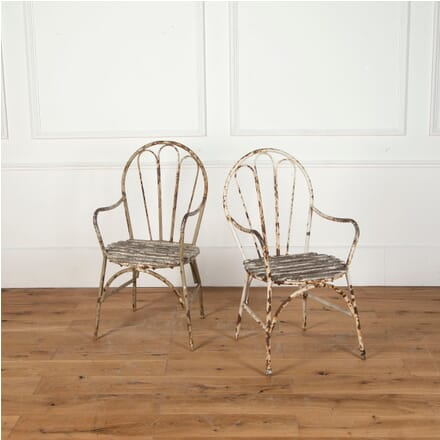 Pair of Garden Chairs GA9012241