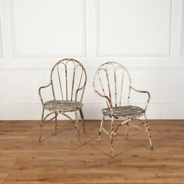Pair of Garden Chairs GA9012241