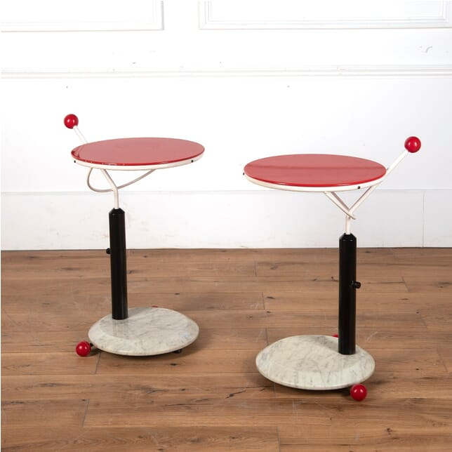 Pair of 1980s Italian Occasional Tables TC5712078