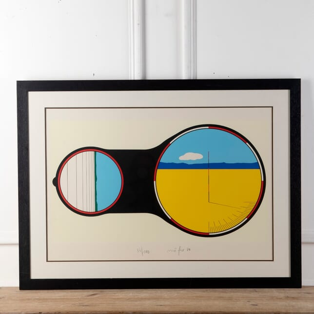 An Image Through A Lens'-Framed And Signed Lithograph WD5712677