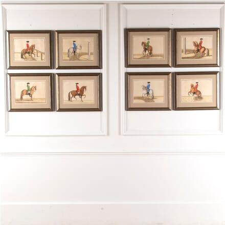 Set of Eight Eisenberg Horses DA6012167