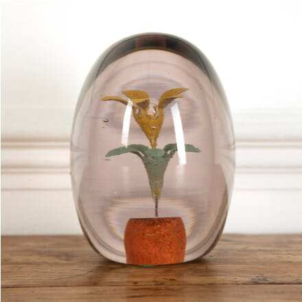 Large Floral Paperweight DA9912180