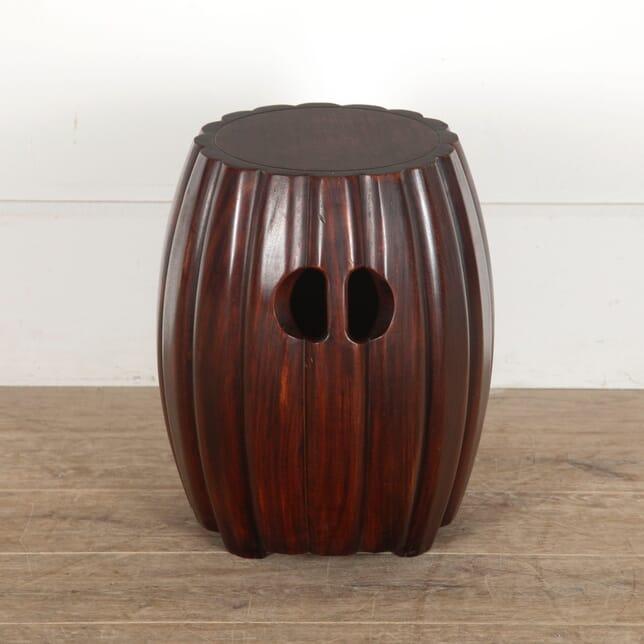 Chinese Hardwood Barrel Seat CH0513256