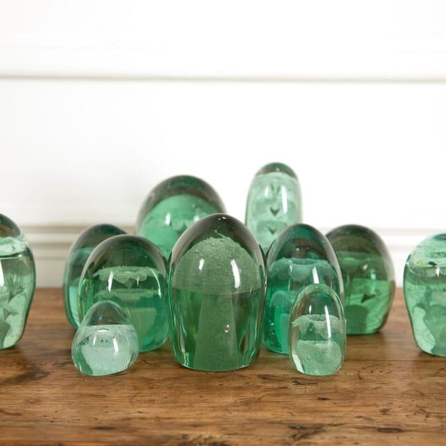 Set Of 13 Glass Dumps DA9912178