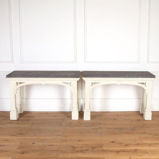 Pair of Regency Side Tables TS2759027