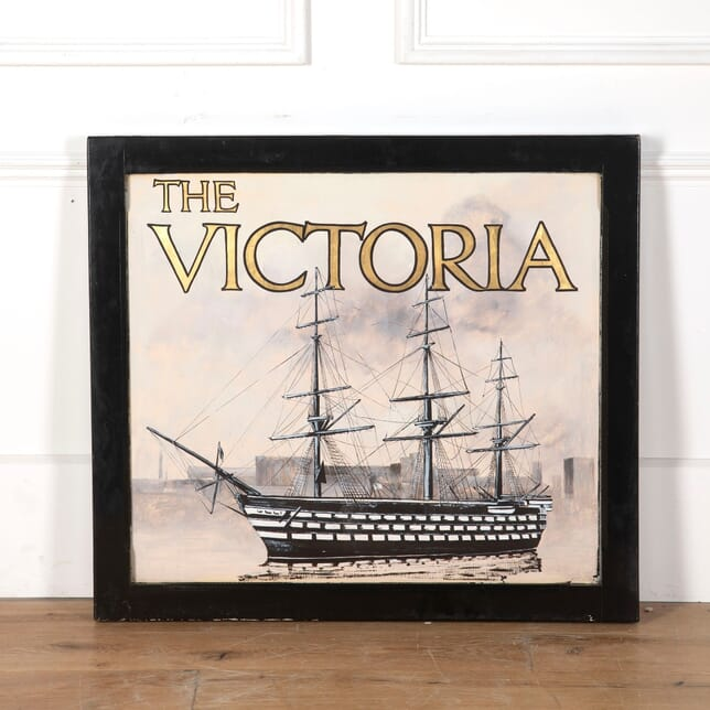 Pub Sign from The Victoria Inn - Salcombe DA9012846