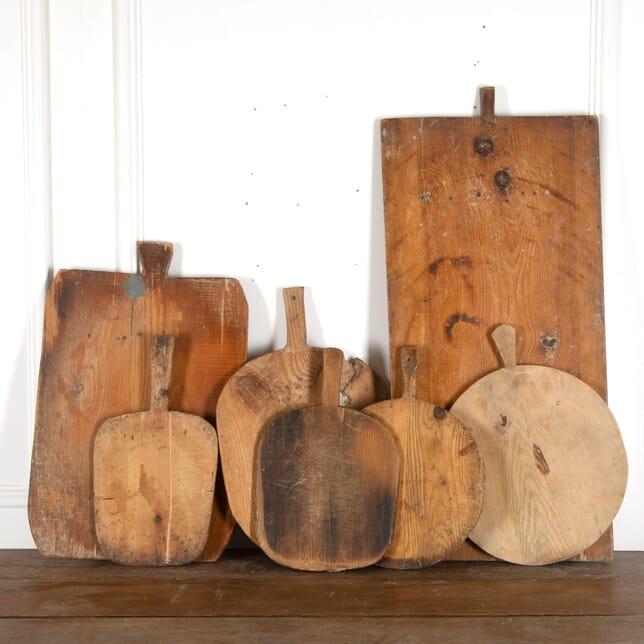 Collection of Seven Eastern European Prep Boards DA7712499