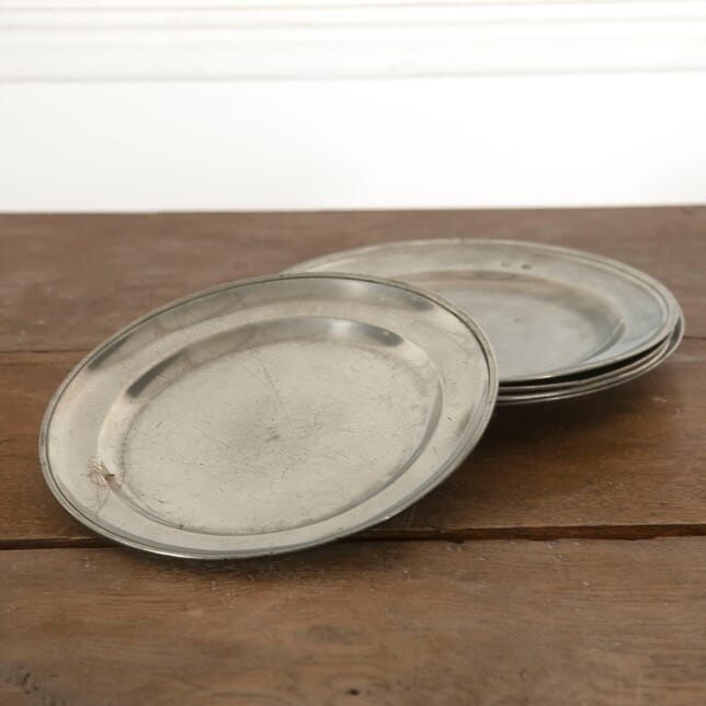 19th Century Pewter Plates DA7712780