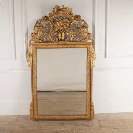19th Century French Gilt Mirror LW4812368